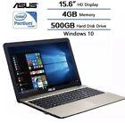 "Asus X541N 15.6""HD Intel Dual Core N4200 4GB 500GB USB3.1"