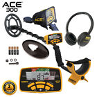 Garrett ACE 300 Metal Detector PROformance Submersible Search Coil and Extras