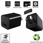 Covert USB Wall Charger Hidden Spy Camera, Motion Detection, 32GB Memory Card in