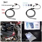 3in1 Multifunction 8mm 10M 6LED  Autos Business Endoscope HD Inspection Camera