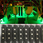 New 8x Green Waterproof SMD Light for UTV car/car/truck bed led light components