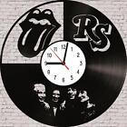 Rolling Stones music Vinyl LP Wall Clock Art Design Handmade