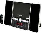AM/FM Stereo Radio CD Shelf System Player Home Stereo Speaker Dual Alarm Clock