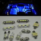 16 Bright Blue LED Lights Interior Bulbs Package Kit for Honda Pilot 2003-2005