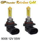 GP Thunder 2500K Rainbow Gold 9006 (HB4) 12V 55W Halogen Xenon Light Bulbs Pair