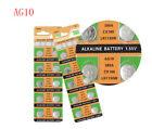 10PC Coin Battery LR1130 AG10 Watch Button Coin 189 389 390 LR54 Battery