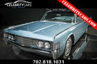 1965 Lincoln Continental  1965 Lincoln Continental 4 Door suicide Doors Convertible blue restored