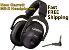 New Garrett MS-2 Headphones * to use with your Metal Detector * Fast FREE Ship