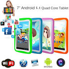 7 inch Tablet PC for Education Kids Children Android 5.1 Quad Core 8GB Camera