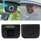 Vehicle Solar Powered Car Vent Window Fan For Car Auto Ventilator Air Cooling NP