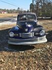 1947 Nash G80  1947 Nash Ambassador 600 Sedan 4 Door 6 Volt Original Car