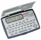 New Translator Franklin TES-118 Calculator Spanish-English And Phrasebook Travel