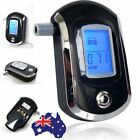 New Black Police Digital Breath Alcohol Analyzer Tester Breathalyzer test LCD UN