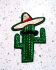 New Mexican Cactus Embroidered Cloth Patch Applique Badge Iron Sew On Patches