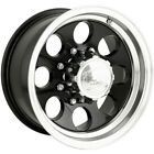 16x8 Black Alloy Ion Style 171 5x135 -5 Wheels Nitto Dura Grappler LT245/75R16