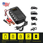 Car Battery Lead Acid Charger 20A Motorcycle Truck 12V Smart LED Intelligent New