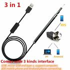 3in1 Ear Cleaning USB Endoscope 5.5mm Visual Ear Spoon Earpick Otoscope RJ