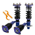 For Honda Prelude 1992-2001 Full Coilover Suspension lowering Kits Blue