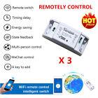 3 PCS Wifi Remote Control Switch Intelligent Wireless Home Switch DIY Timer LC