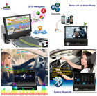 1 DIN 7''HD Capacitive Touch Car GPS Navigation Player Android Wifi TF MP3 MP4
