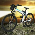 ANCHEER 26'' 27 Speed Foldable Electric Power Mountain Bicycle with OO5501 01