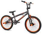 """20"""" Kent Boys' Bike Matte Gray Orange Bmx Kids Bicycle Steel Frame Single Speed"""
