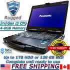 Panasonic Toughbook CF-53 i3 2.1GHz 4-8GB 320GB HDD Rugged Laptop GOBI WIN10