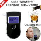 Portable Police Breathalyzer Analyzer Detector Digital Alcohol Breath Tester