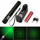 High power Laser Flashlight 532nm Pointer Burning Match Laser Pen With Safe Key