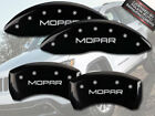 "2007-2018 Jeep Compass Patriot Front Rear Black MGP Brake Caliper Covers ""Mopar"""