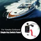 Rupse Outboard Single Engine Key Switch Panel For Yamaha 704-82570-12-00 US Ship
