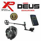 "XP Deus Metal Detector V4  WS-5 Wireless Headphones + Remote + 9""  Search Coil"
