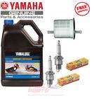 YAMAHA 2001-2005 GP800R 2W OEM Oil Fuel Filter NGK BR8ES Maintenance Tune Up Kit
