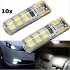 10X T10 2835 12SMD White LED Canbus Error Free Silica Light Xenon Highlight Bulb