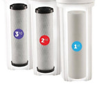 Water Systems FILTER-SET Water Ultimate Pre-Filter Set 3-Stage Replacement Set,