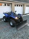Yamaha Grizzly 700 with Plow