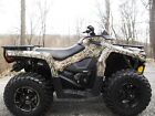 2015 Can-Am Outlander DPS 500 V twin 4x4 Camo Edition with low hours.