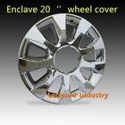 """4pcs CHROME ENCLAVE 20"""" Wheel Skins BUICK ENCLAVE wheel Cover 2009-2010 Hub Caps"""