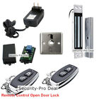 Door Access Control System With Door Magnetic Lock +2 Wireless Remote Controls