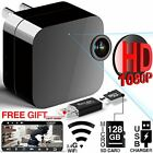 Hidden Cameras Spy HD 1080P WiFi Remote View With APP USB Wall Charger Support