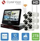 Security Camera System Wireless WiFi CCTV IP Camera Night Vision Outdoor HD New