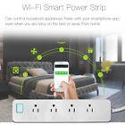 WiFi Smart Extension Socket USB Power Strip For Amazon Alexa Echo Google Home MU
