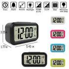 Electronic Backlight Temperature Calendar LED Digital Snooze Alarm Clock