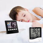 Control Indoor Weather Forecast LCD Screen Digital Alarm Clock Thermometer