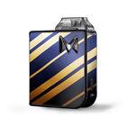 Skin Decal for SV Mi-Pod Kit Vape / blue gold stripes