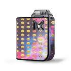 Skin Decal for SV Mi-Pod Kit Vape / Emojis in Galaxy Space Peace