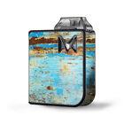 Skin Decal for SV Mi-Pod Kit Vape / Baby Blue Truck Rust