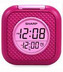 Vibrating Pillow Alarm Clock - Pink - Sharp SPC562i Brand New Fast Free Shipping