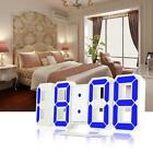 Modern Digital Wall Table Design Snooze Alarm Clock Backlight Display Projection