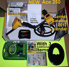 """NEW Garrett Metal Detector Ace 250 with 6.5x9"""" Coil * Headphones * Free Shipping"""